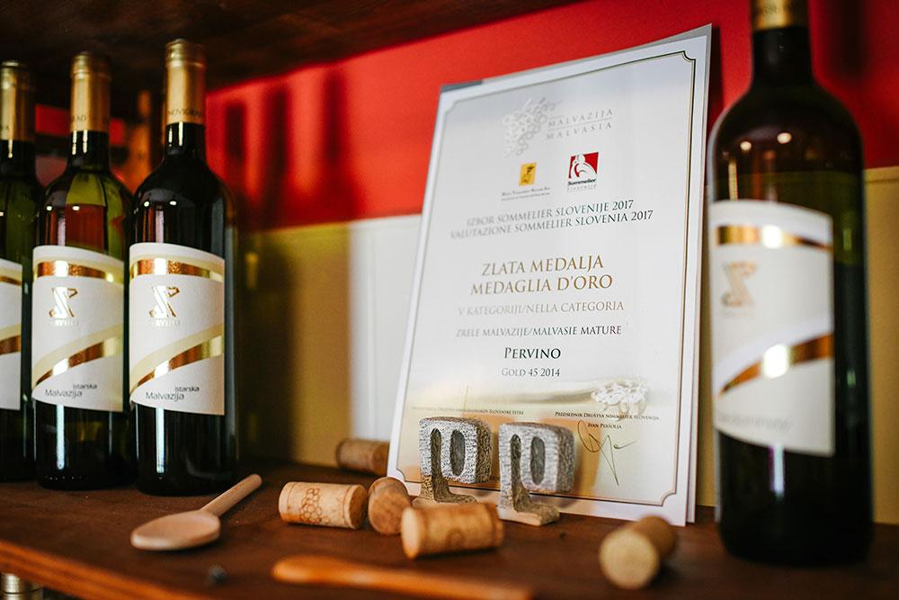 Pervino proizvodi - Nagrade